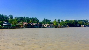 The Delta, accessible only by boat.