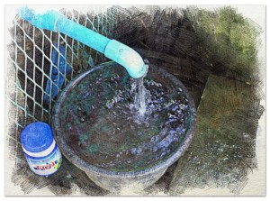 Pure Clean Water given for free to their neighbors.
