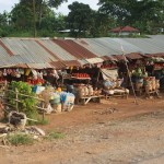 market on highway