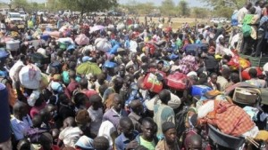 Over 69,000 refugees are gathering in Northern Uganda
