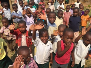 These children have a pastor and a church to minister to their needs. They give thanks to God because you love them enough to support a pastor in their village.